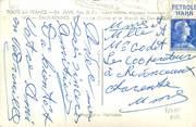 Marcophilie (Lettre Et Cartes) MARCOPHILIE FRANCE / BANDE PUBLICITAIRE sur CPSM 64 Eaux Bonnes