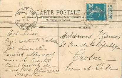 MARCOPHILIE FRANCE / BANDE PUBLICITAIRE sur CPA 73 Grésy sur Aix