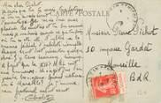 Marcophilie (Lettre Et Cartes) MARCOPHILIE FRANCE / BANDE PUBLICITAIRE sur CPA 04 Pont du Fossé