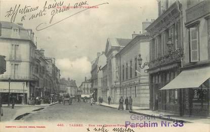 "/ CPA FRANCE 65 ""Tarbes, rue des grands fossés du tribunal"""