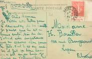 Marcophilie (Lettre Et Cartes) MARCOPHILIE FRANCE / BANDE PUBLICITAIRE sur CPA 83 Sainte Maxime