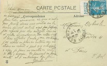 MARCOPHILIE FRANCE / BANDE PUBLICITAIRE sur CPSM 77 Mormant