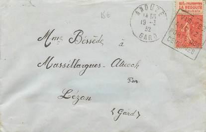 MARCOPHILIE FRANCE / BANDE PUBLICITAIRE sur lettre enveloppe