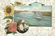 Marcophilie (Lettre Et Cartes) MARCOPHILIE POSTE MARITIME sur CPA EGYPTE Port Saïd / PAQUEBOT