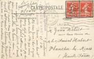Marcophilie (Lettre Et Cartes) MARCOPHILIE POSTE NAVALE sur CPA FRANCE Toulouse / CROISEUR Le JEANNE D'ARC