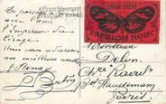 Marcophilie (Lettre Et Cartes) MARCOPHILIE VIGNETTE sur CPA SUISSE Genève