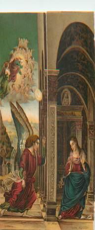 CPA LIVRET CALENDRIER 1909 / ITALIE / RELIGION