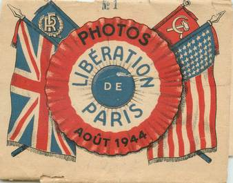 LOT 10 PHOTO LIBERATION DE Paris Aout 1944