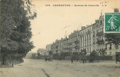 """CPA FRANCE 94 """"Charenton, avenue de Gravelle"""""""