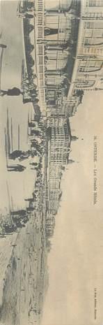 """CPA PANORAMIQUE BELGIQUE """"Ostende"""""""