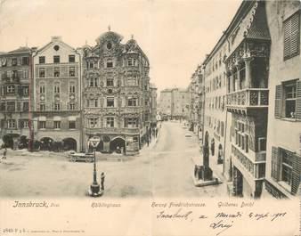 "CPA PANORAMIQUE AUTRICHE ""Innsbruck"""