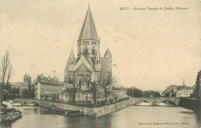 """- CPA FRANCE 57 """"Metz, nouveau Temple du Jardin d'Amour"""""""