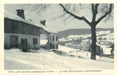 """- CPA FRANCE 88 """"Les Hautes Vosges, le Pré des Clefs à Gérardmer"""""""