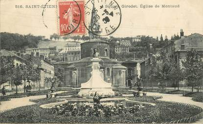 "- CPA FRANCE 42 ""Saint Etienne, Square Girodet"""