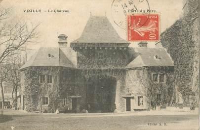 "- CPA FRANCE 38 ""Vizille, le chateau"""