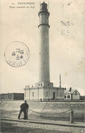 "- CPA FRANCE 59 ""Dunkerque, le phare"""
