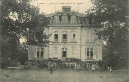 """- CPA FRANCE 23 """"Boussac, chateau de la Creuzette"""""""