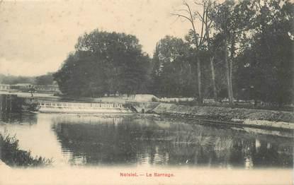 """- CPA FRANCE 77 """"Noisiel, le barrage"""""""