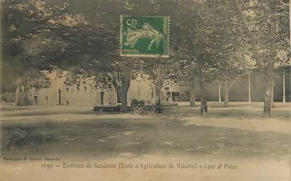 """- CPA FRANCE 13 """"Env. de Gardanne, Ecole d'Agriculture de Valabre"""""""