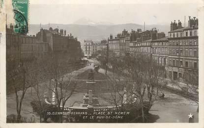 """- CPA FRANCE 63 """"Clermont Ferrand, la Place Saint Hérem"""""""