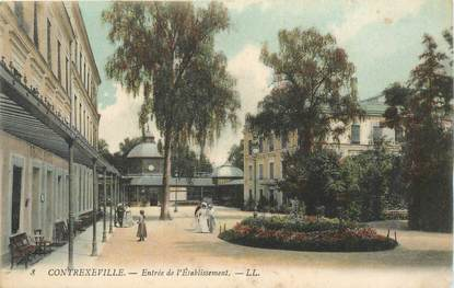 "- CPA FRANCE 88 ""Contrexéville, Etablissement thermal"""
