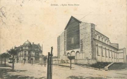 "- CPA FRANCE 88 ""Epinal, Eglise Notre Dame"""