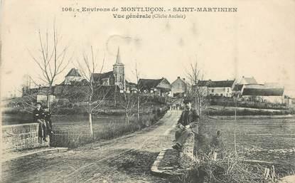 "- CPA FRANCE 03 ""Env. de Montluçon, Saint Martinien"""