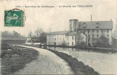 """- CPA FRANCE 03 """"Le Moulin des Trilliers"""""""