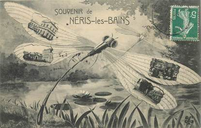 "- CPA FRANCE 03 ""Néris les Bains"""