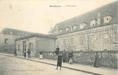 "- CPA FRANCE 03 ""Montluçon, l'Hopital"""