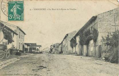 """- CPA FRANCE 54 """"Xirocourt, le haut de la route de Vézelise"""""""
