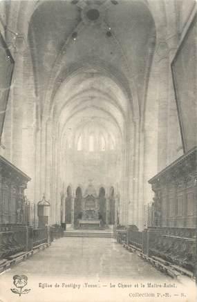 "- CPA FRANCE 89 ""Eglise de Pontigny"""
