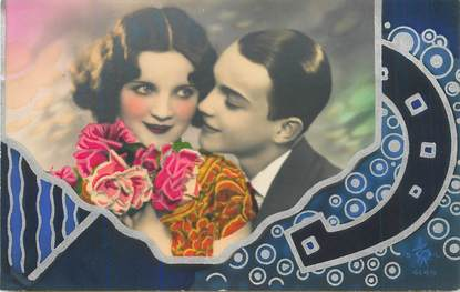 CPA LA FEMME / COUPLE