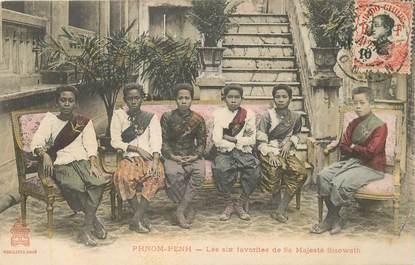 "CPA CAMBODGE ""Phnom Penh, les favorites de sa Majesté"""