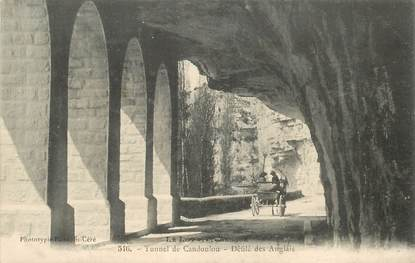 "CPA FRANCE 46 ""Tunnel de Candoulou"""