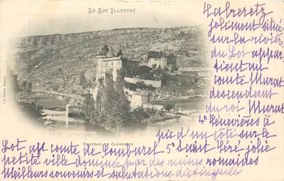"CPA FRANCE 46 ""Chateau de Cabrerets"""