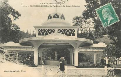 "CPA FRANCE 46 ""Alvignac Miers, Pavillon de la Source"""