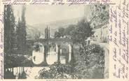 """46 Lot CPA FRANCE 46 """"Pont de Cabrerets"""""""
