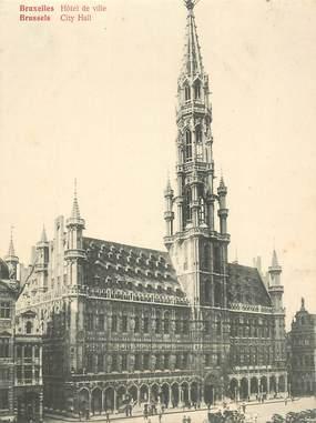 """CPA PANORAMIQUE BELGIQUE """"Bruxelles, Hotel de ville"""""""