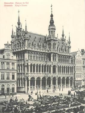 """CPA PANORAMIQUE BELGIQUE """"Bruxelles, Maison du Roi"""""""