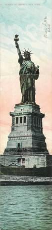"""CPA PANORAMIQUE USA """"Statue de la Liberté"""""""