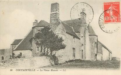 """/ CPA FRANCE 50 """"Coutainville, le vieux manoir"""""""