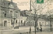 """94 Val De Marne CPA FRANCE 94 """"Saint Maurice, la Mairie et la grande rue"""""""