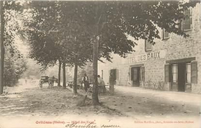 """CPA FRANCE 69 """"Orliénas, Hotel des Eaux"""""""