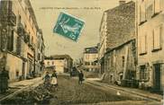 "82 Tarn Et Garonne CPA FRANCE 82 ""Laguépie, rue du Pont"" / TOILÉE"