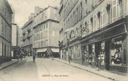 """CPA FRANCE 29 """"Brest, rue de Siam"""" / MAISON MARIUS JARD / Ed. M.J."""