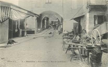 """CPA FRANCE 30 """"Sommières, Poissonnerie, rue des Jardinières"""""""