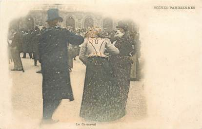 """CPA FRANCE 75 """"Paris, scènes Parisiennes, le Carnaval"""""""
