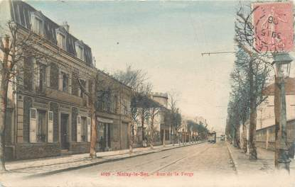 "CPA FRANCE 93 ""Noisy le Sec, rue de la Forge"" / Carte colorisée"