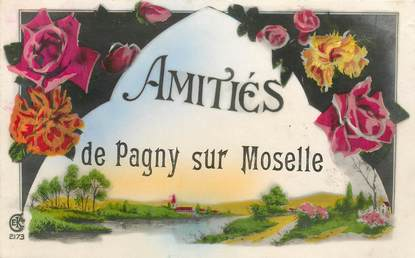 "CPA FRANCE 54 ""Pagny sur Moselle"""